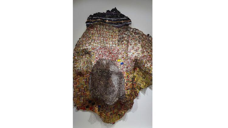 Une pièce deEl Anatsui, l'un des artistes africains les plus chers