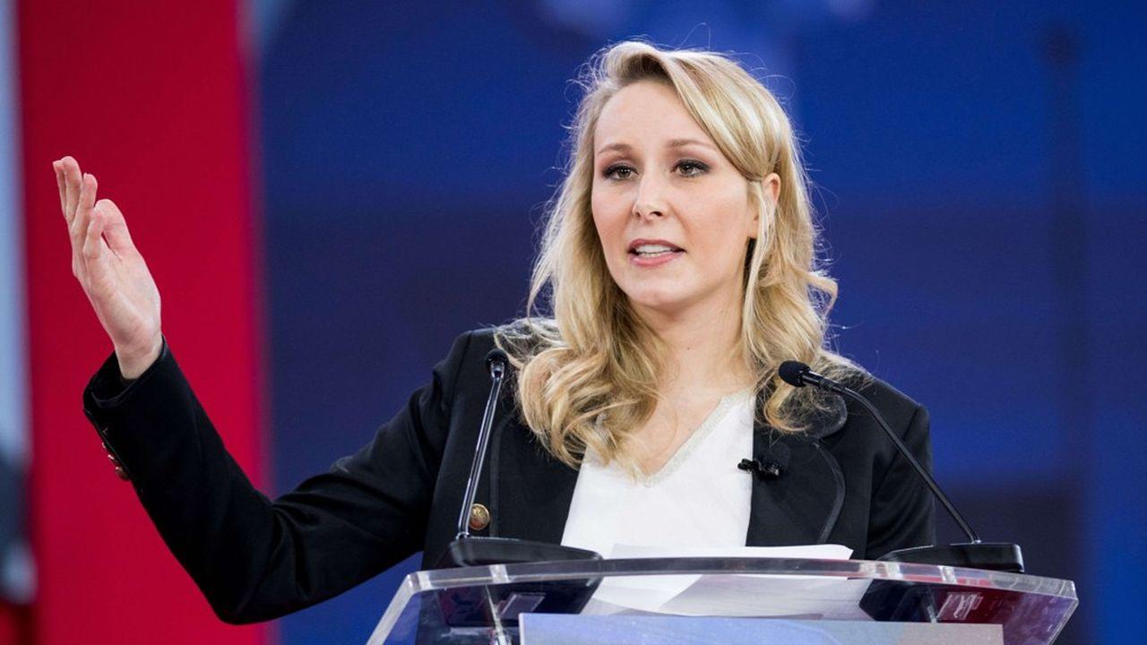 Marion Maréchal a été invitée par le Medef à participer à une table ronde sur le populisme lors de son université d'été aux côtés de Bernard Tapie notamment.