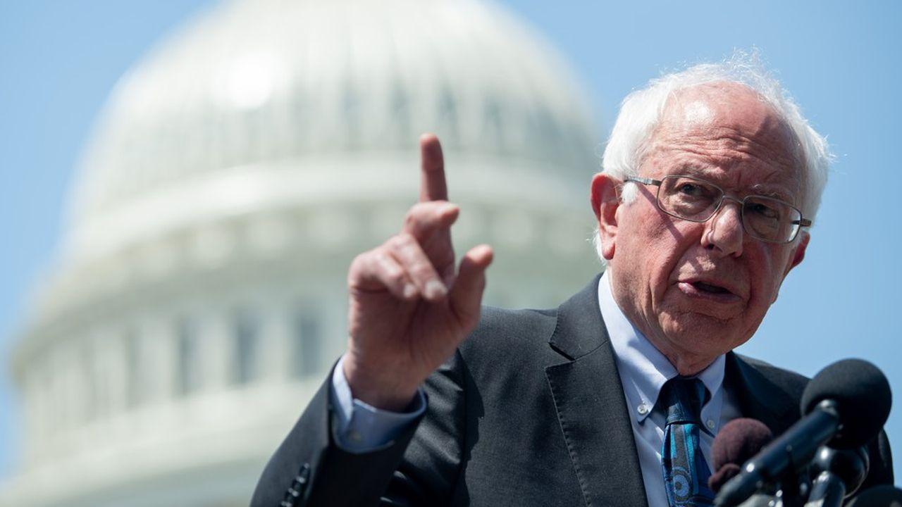 Le sénateur indépendant Bernie Sanders, candidat à l'investiture démocrate.
