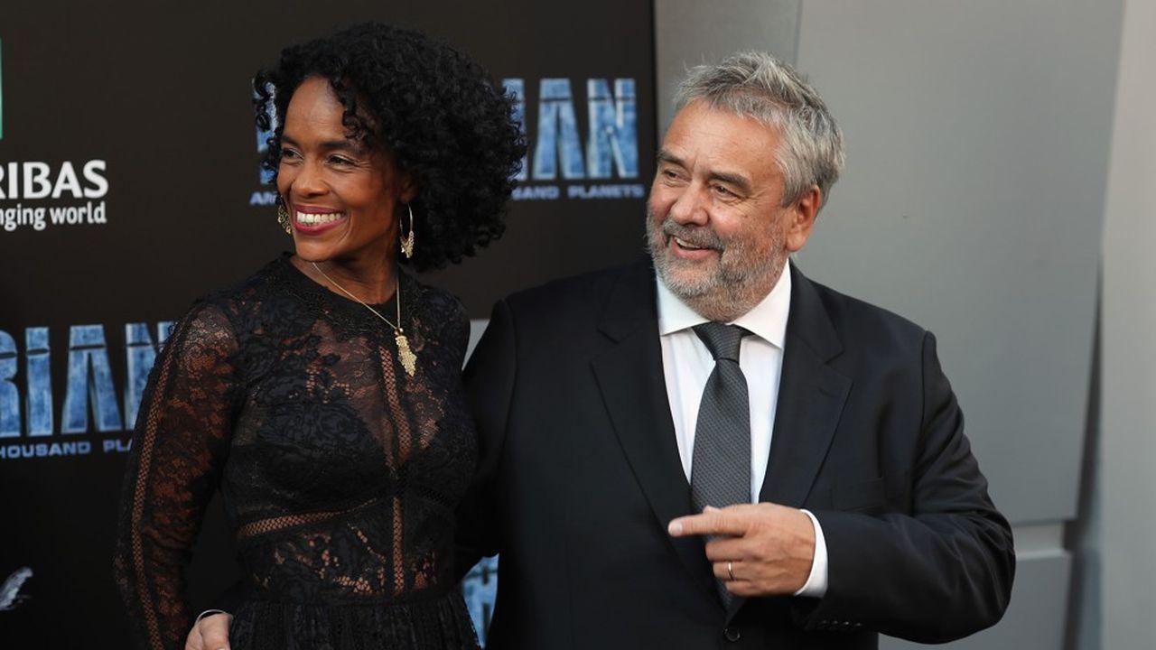 La société de Luc Besson (ici avec son épouse, la productrice Virginie Besson-Silla) a été placée mi-mai en procédure de sauvegarde pour une durée initiale de six mois, lui permettant de renégocier sa dette.