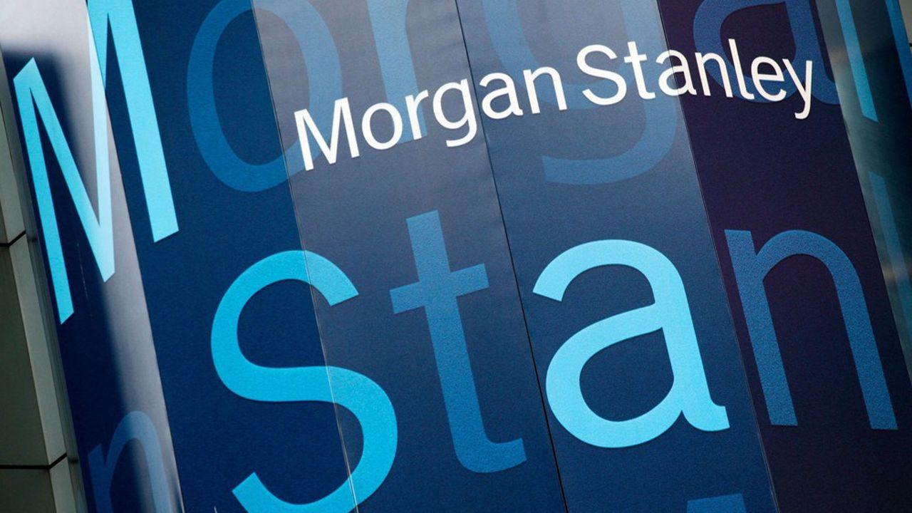 Morgan Stanley a dominé le marché français au premier semestre avec 22,9milliards de dollars de transactions conseillées, comme Dassault Systèmes/Medidata ou Publicis/Epsilon, selon Refinitiv. OCT. 18, 2011, FILE PHOTO/1904252156