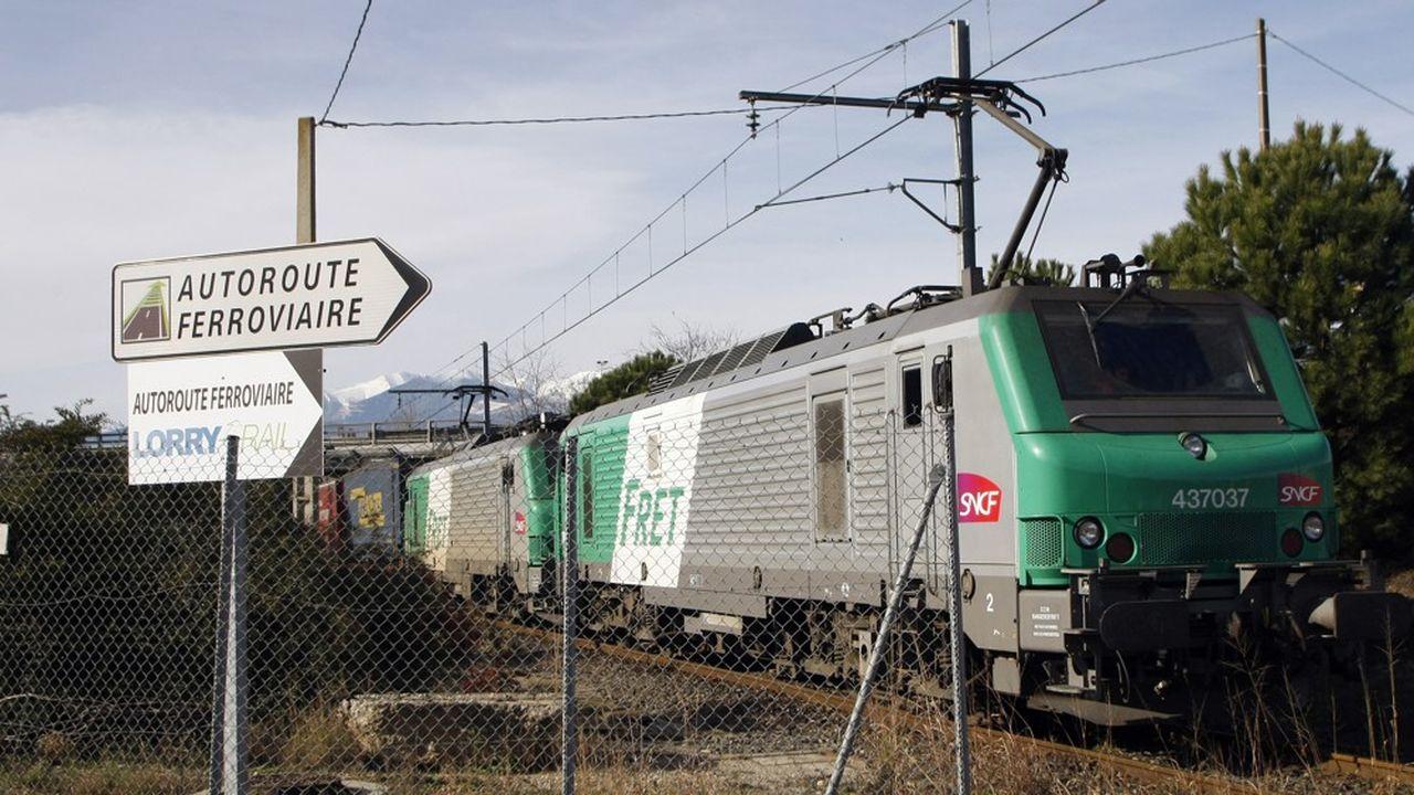 Le fret ferroviaire est « plus sobre énergétiquement, plus propre, plus sûr ».