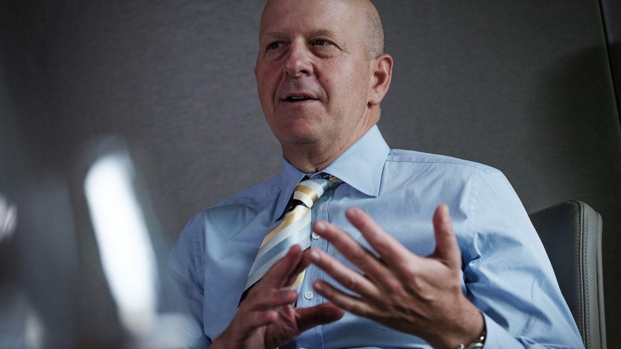 David Solomon, numéro un de Goldman Sachs pour Les Echos