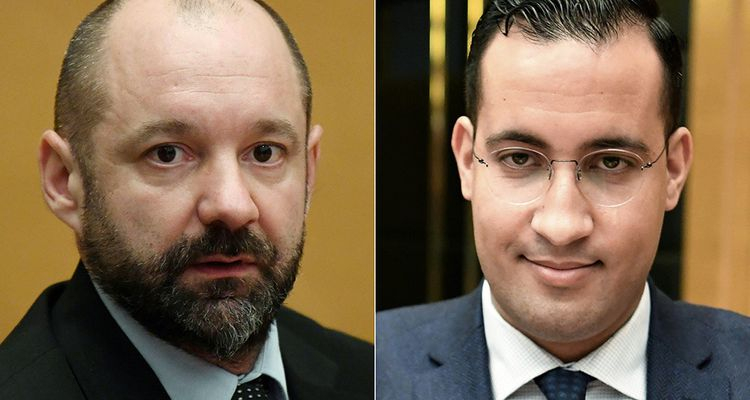 Vincent Crase et Alexandre Benalla.