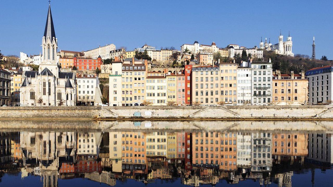 Les prix ont davantage grimpé à Lyon (photo) qu'à Paris, respectivement +6,6% et +3% au premier semestre de 2019.
