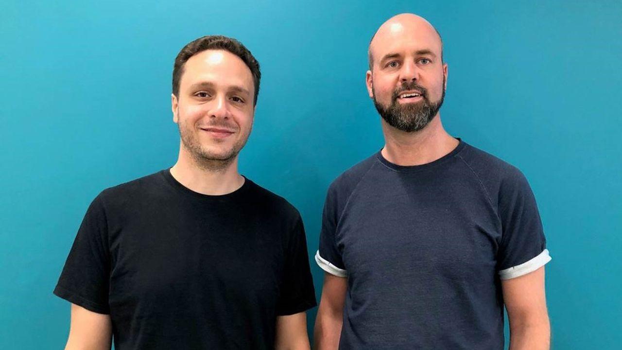Jonathan Dahan (à gauche) et Nick Van Roekel (à droite), les cofondateurs de Fintel.