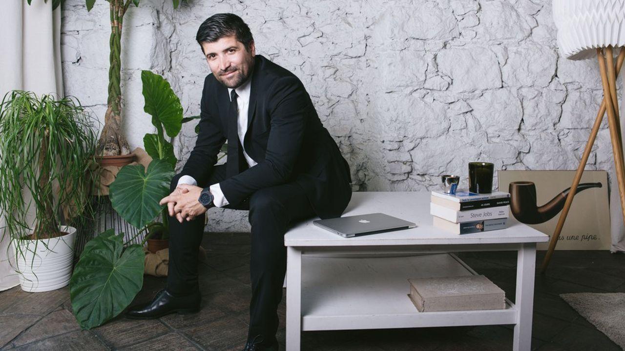 Cédric Messina, le PDG-fondateur de My Coach.
