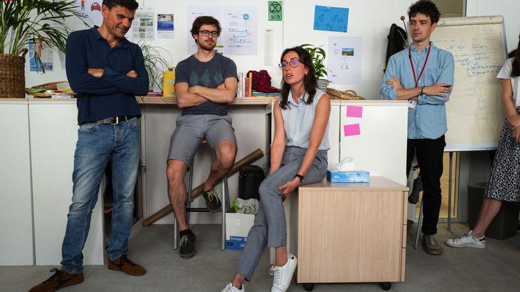 «Le statu quo est toujours l'option par défaut dans l'administration», selon Pierre Pezziardi, entrepreneur en résidence à beta.gouv.fr. (à gauche sur la photo)