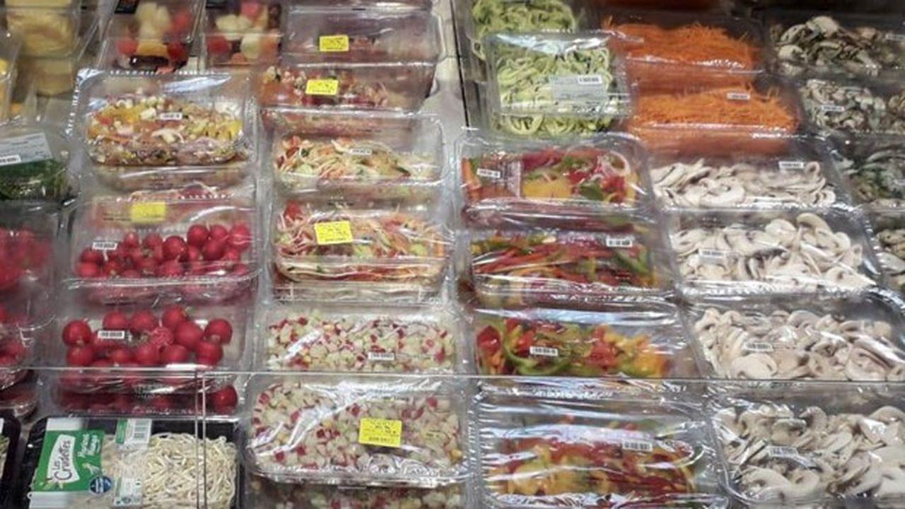 Frais émincés élabore des barquettes de fruits, légumes et mélanges tranchés, prêts à consommer