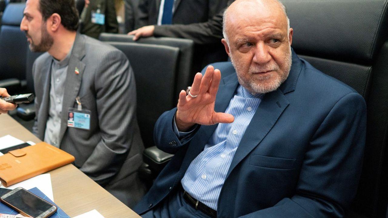 Le ministre iranien du pétrole Bijan Namdar Zanganeh.