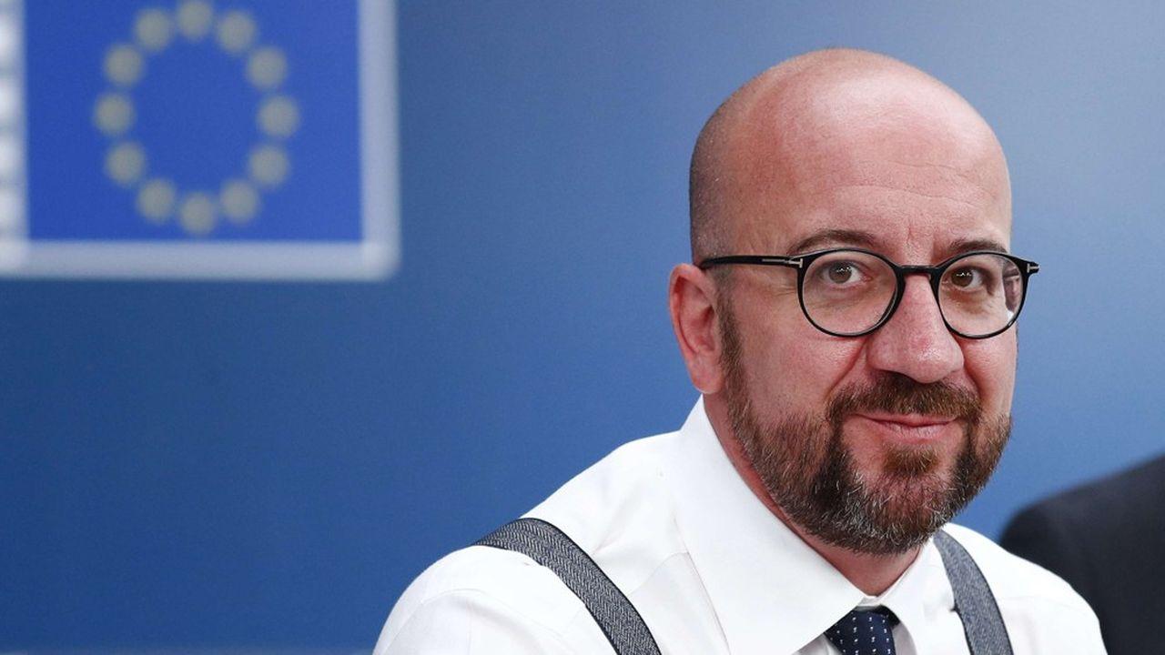 Charles Michel devrait remplacer le Polonais Donald Tusk au poste de président du Conseil européen.