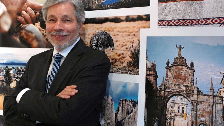 Luiz Seabra, qui a fondé le groupe il y a cionquante ans, incarne l'âme de Natura (Paris, 2009).