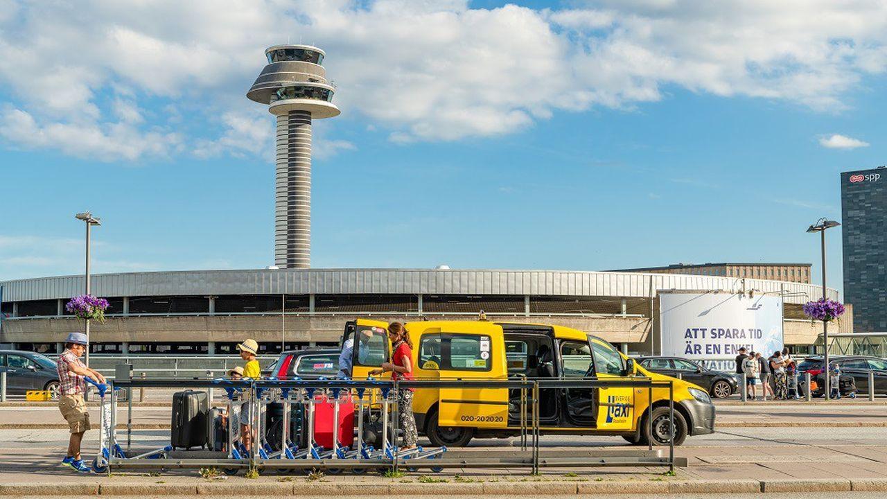 Le mouvement #flygskam (honte de prendre l'avion) né en Suède a des conséquences sur le trafic aérien, comme ici au départ de l'aéroport Arlanda à Stockholm.