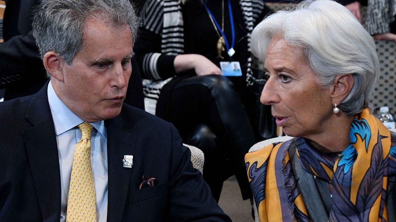 Le numéro deux du FMI, David Lipton, va remplacer provisoirement Christine Lagarde à la tête de l'institution, le temps de lui désigner un successeur.