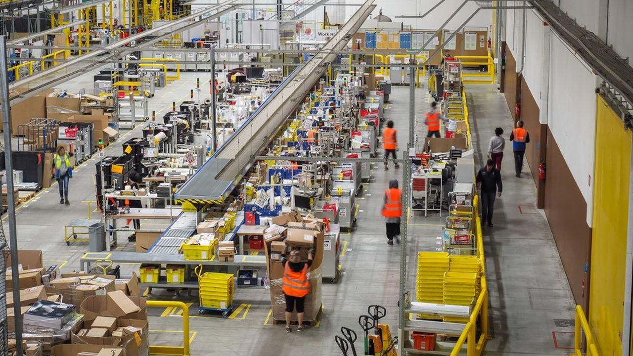 L'entreprise basée à Seattle, qui a investi plus de deux milliards d'euros en France depuis 2010, a réalisé 6,6milliards d'euros de chiffre d'affaires en 2018 dans l'Hexagone
