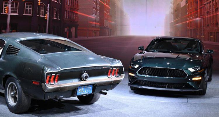 En janvier2018, Ford a présenté une édition limitée de son modèle baptisé Mustang Bulitt