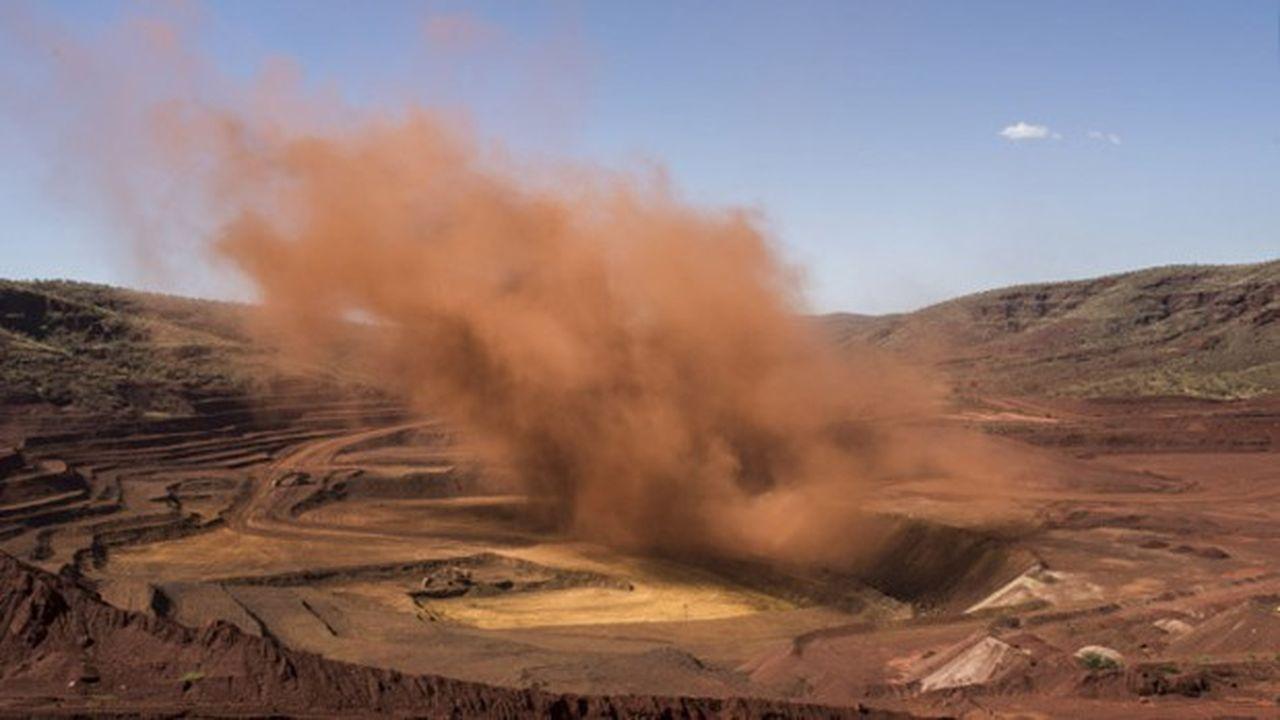 Une mine de fer dans le Pilbara, principale région productrice en Australie.