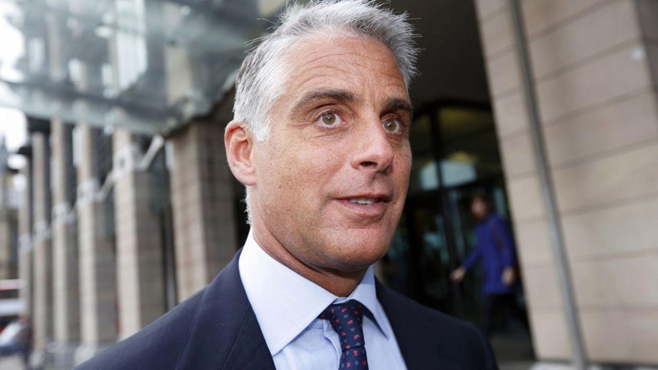 Andrea Orcel, ex-patron de la banque d'investissement d'UBS, aurait dû prendre la direction de Santander début 2019.