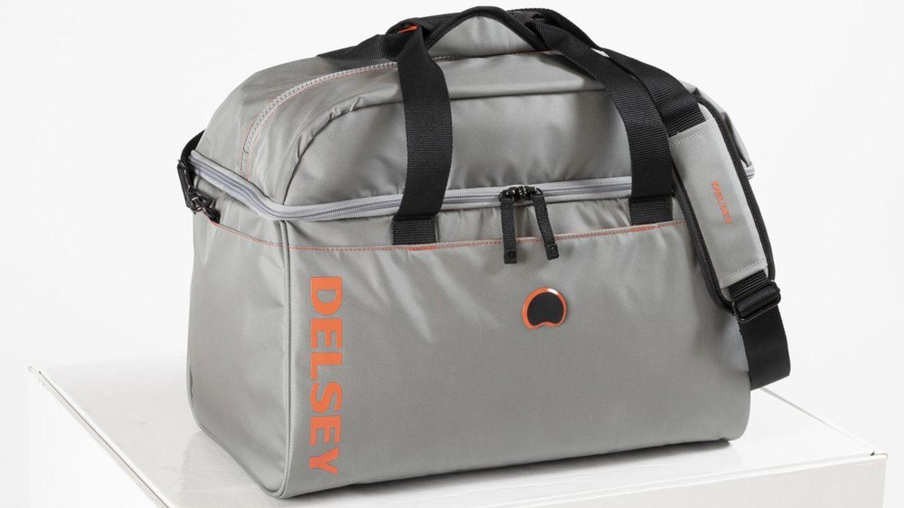 Delsey lancera en fin d'année des sacs de voyage et des valises souples en PET recyclé (R-PET), obtenu à partir de bouteilles en plastique.