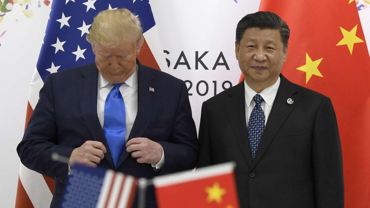 Même si lors de leur dernière rencontre en marge du G20 à Osaka Donald Trump et Xi Jinping ont décidé de faire une pause dans l'escalade, la guerre commerciale qu'ils se livrent pèse sur la croissance et les échanges.