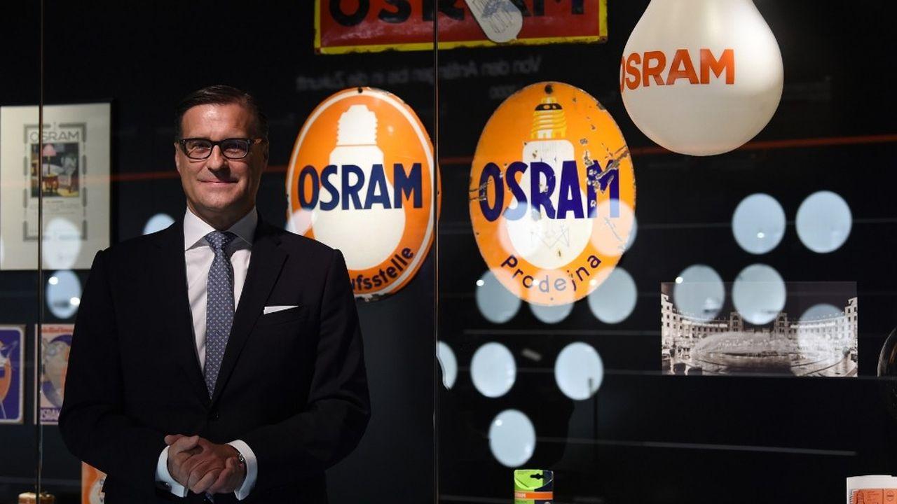 Après la scission d'Osram avec Siemens en 2013, son directeur général Olaf Berlien a recentré la société sur les technologies de pointe. Sans véritable succès.