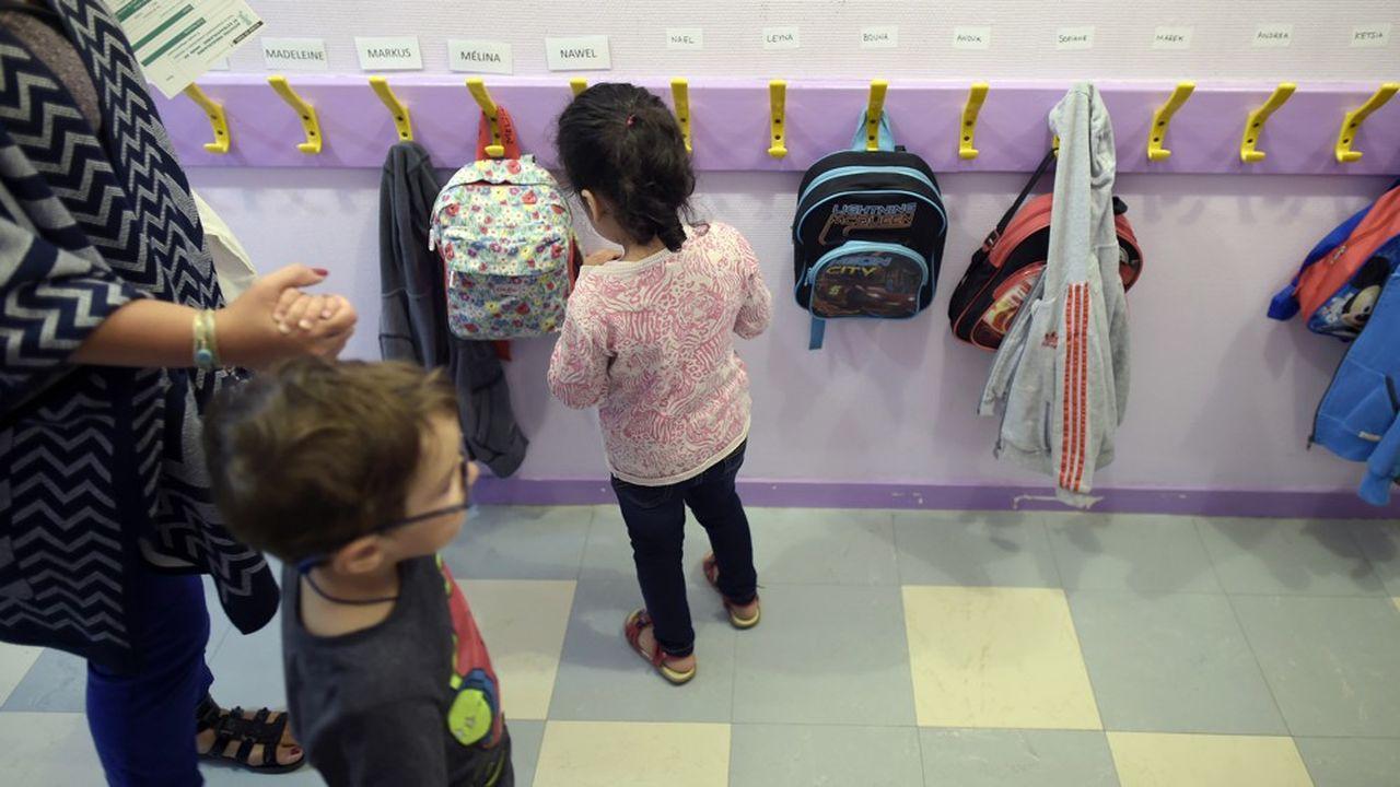 Le projet de loi «pour une école de la confiance» prévoit notamment l'abaissement à trois ans, dès la rentrée prochaine, de l'âge de l'instruction obligatoire.