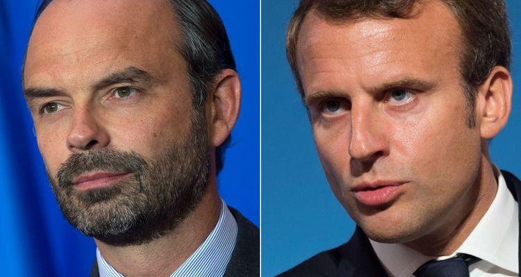 Edouard Philippe et Emmanuel Macron.