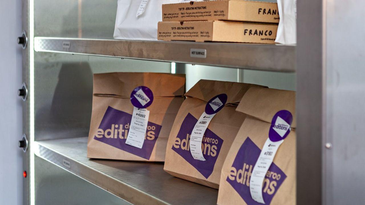 Deliveroo a aussi créé des marques virtuelles, c'est-à-dire des restaurants qui n'ont aucun emplacement physique.