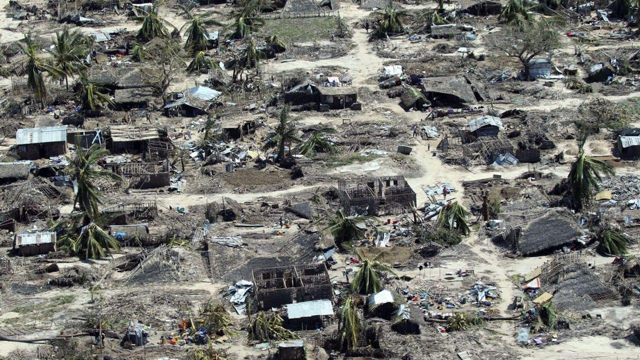 Le cyclone Idai, qui a frappé le Mozambique en mars, a été suivi d'une épidémie de choléra.