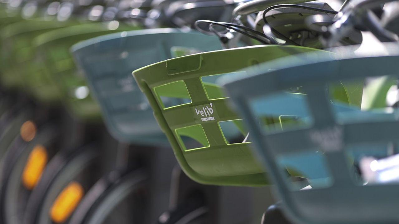Le Vélib possède une flotte de 12.000 vélos à Paris, dont 40% de VAE.