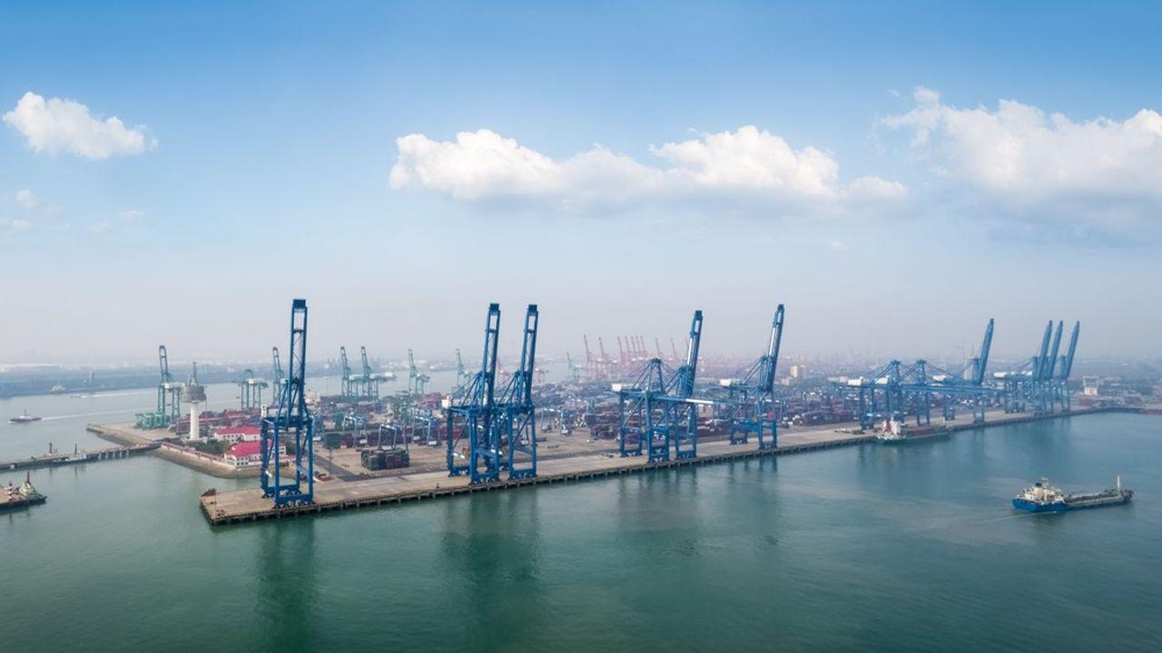 Tianjin, qui enregistre des taux de croissance impressionnants, est devenu l'un des ports les plus actifs au monde.