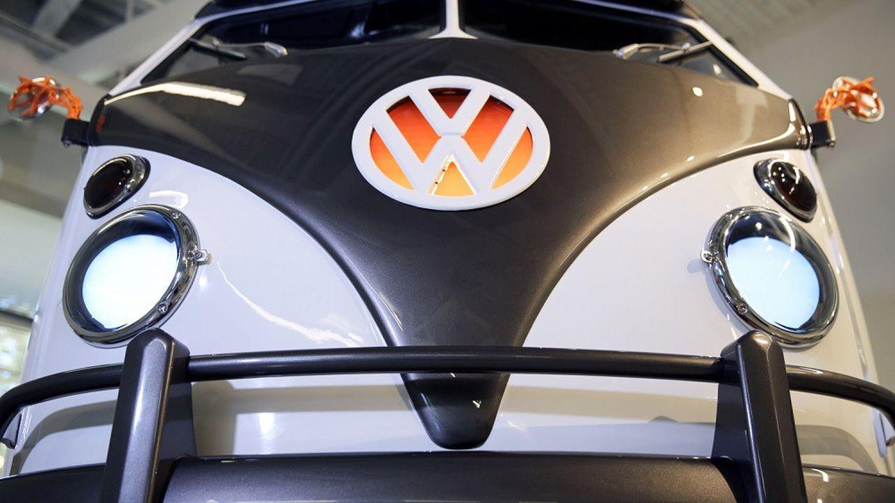 Le VolkswagenType 20 a été présenté lundi en Californie.