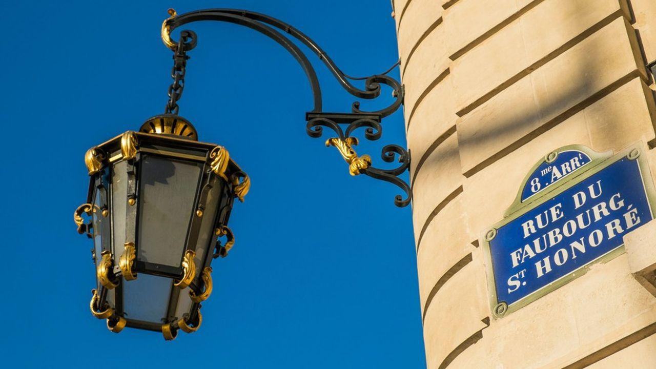 La rue du Faubourg-Saint-Honoré, rue la moins rentable de France