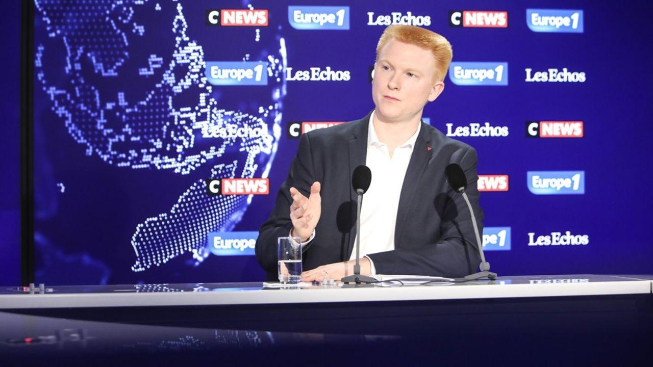 Adrien Quatennens, le nouveau coordinateur de la France Insoumise, était l'invité de dimanche du Grand Rendez-vous, l'émission politique d'Europe 1 en partenariat avec CNews et «Les Echos».