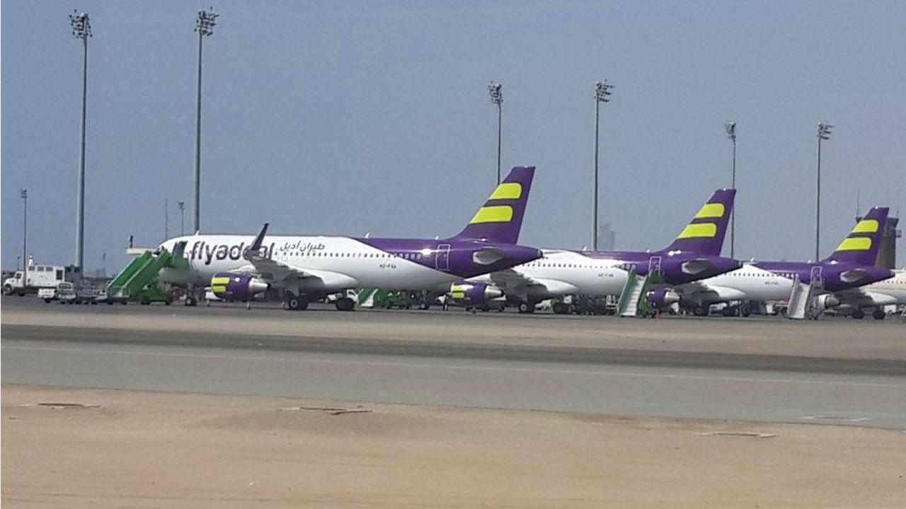 Créée en septembre2017, Flyadeal, filiale low cost de Saudia, disposait jusqu'à aujourd'hui d'une flotte de 11 Airbus