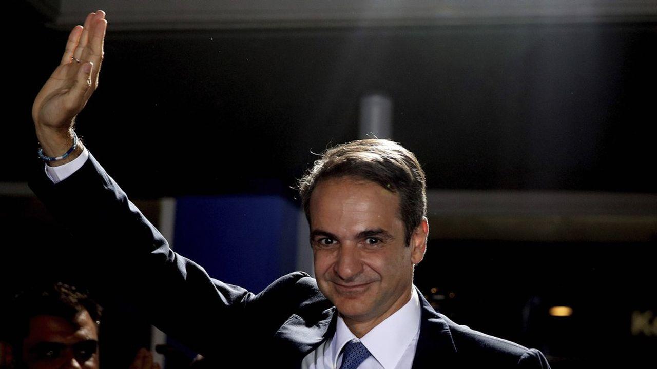 Le parti Nouvelle Démocratie de Kyriákos Mitsotákis est arrivé en tête aux législatives avec 39,7% des suffrages, ce qui lui assurera la majorité absolue au Parlement.