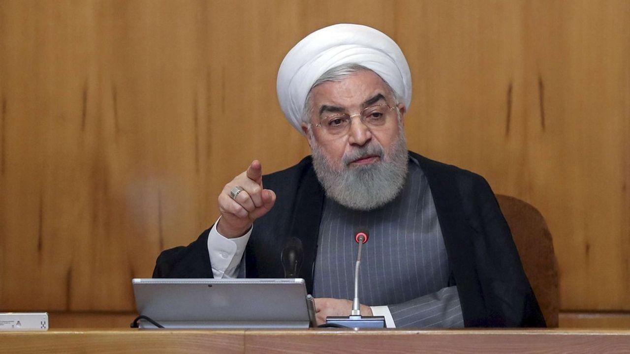 Le pays dirigé par Hassan Rohani (photo) aurait déjà commencé à en enrichir à plus de 4,5%, a rapporté ce lundi l'agence semi-officielle iranienne Isna.