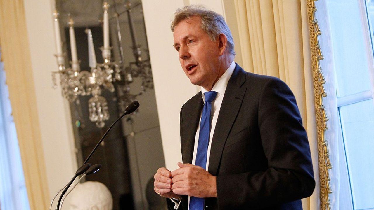 Boris Johnson, le favori dans la course à la présidence du parti conservateur pourrait vouloir la tête de Kim Darroch (photo), l'ambassadeur du Royaume-Uni à Washington.