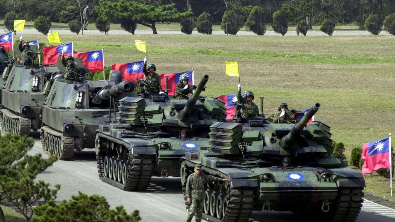 Taipei a tenu à rappeler qu'elle était «en première ligne de l'expansion ambitieuse de la Chine» et qu'elle faisait «face à d'énormes menaces et pressions de Pékin»