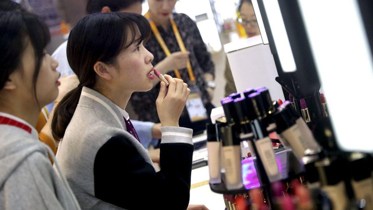 Pour L'Oréal, l'Asie est devenue la première région en termes de ventes au premier trimestre de cette année, devant l'Europe