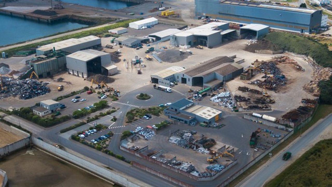 Guyot Environnement prévoit 20millions d'euros d'investissements sur quatre ans pour moderniser 4 sites de traitement des déchets en Bretagne.
