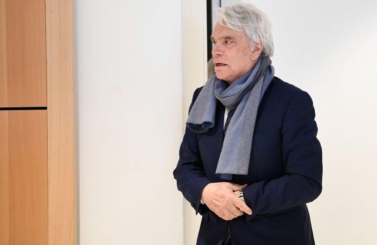 Bernard Tapie en 2019 lors du procès sur l'affaire Adidas-Crédit Lyonnais.