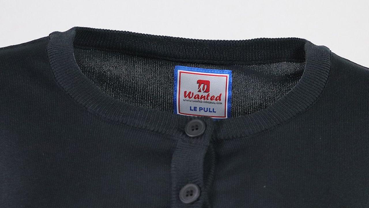 Le pull professionnel Wanted résiste aux lavages à 75 °, au sèche-linge et même à l'eau de Javel