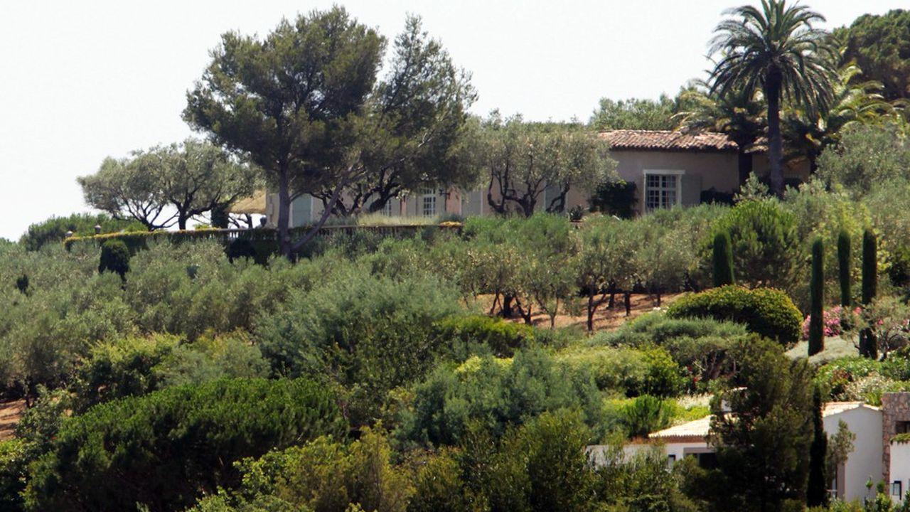 «La Mandala»' à Saint-Tropez acquise en 2012 par Bernard Tapie pour 48millions euros.