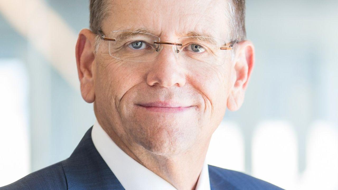 David Goeckeler, directeur général de Cisco chargé des activités réseaux et sécurité.
