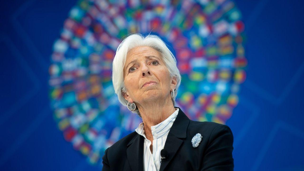 L'ancienne ministre française de l'Economie et des Finances a dirigé le FMI de 2011 à 2019.
