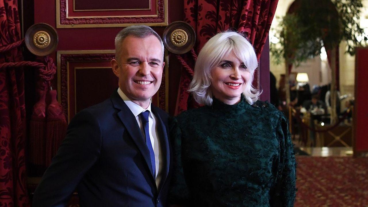 François de Rugy (sur la photo avec son épouse) s'est défendu ce mercredi d'avoir organisé des dîners purement privés, en2017 et2018, avec les moyens de l'Assemblée nationale qu'il présidait alors.