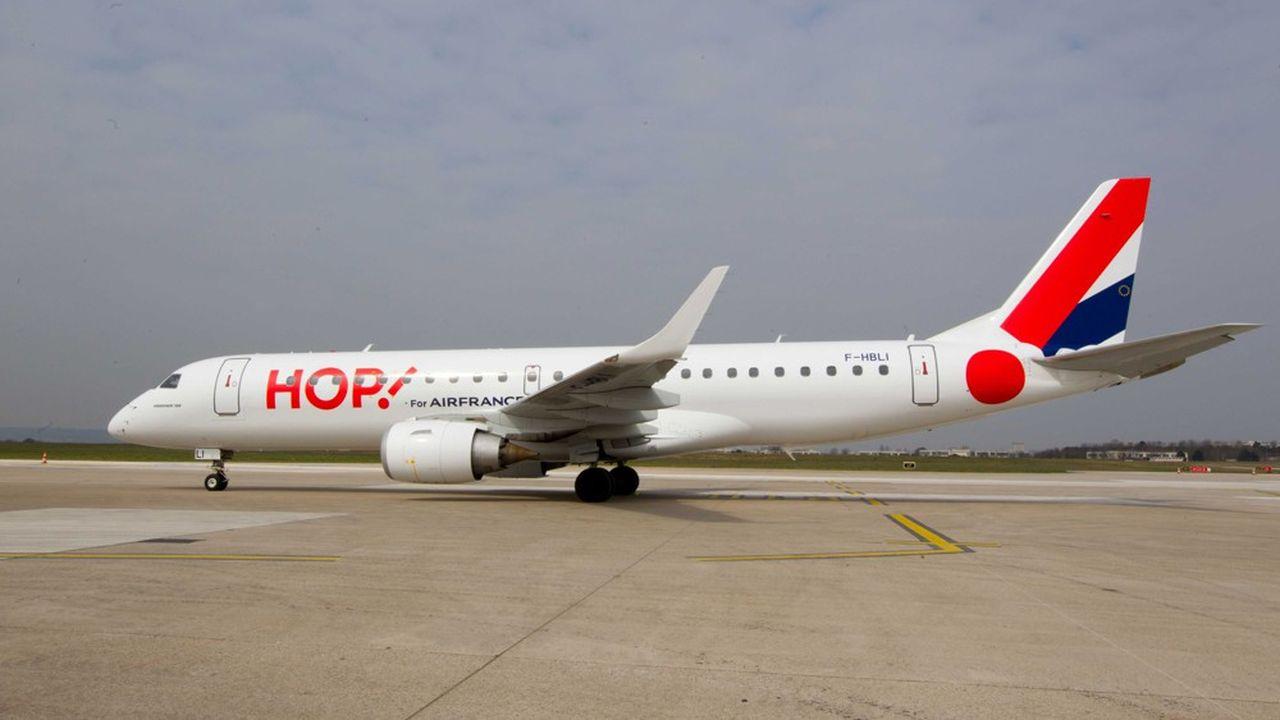 La filiale régionale d'Air France, Hop, opérera bientôt tous ses vols sous la marque et les numéros de vols d'Air France.