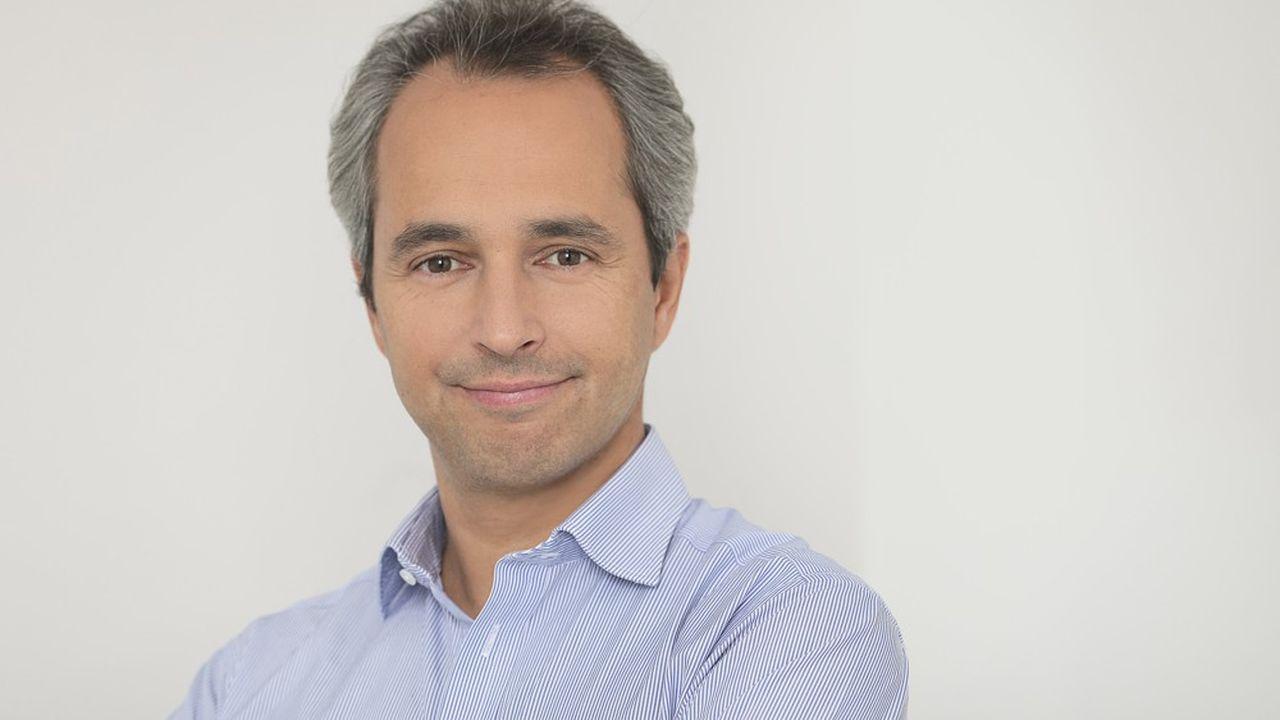 David Larramendy, président du Syndicat national de la publicité télévisée.