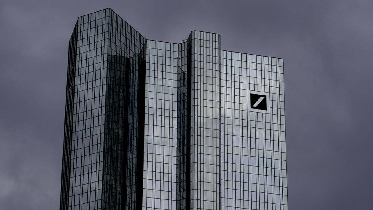 Alors qu'elle amorce une douloureuse restructuration, Deutsche Bankpourrait être impliquée dans le tentaculaire scandale IMDB